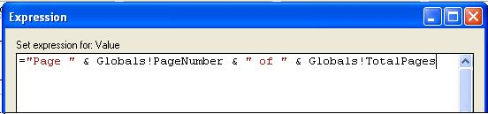 Report Header & Footer :: SQL Server Reporting Services