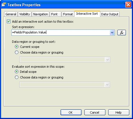 Interactive Sorting :: SQL Server Reporting Services:: www
